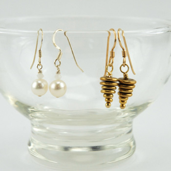 Basic Wire Wrap Earrings