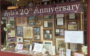 20th Anniversary storefront