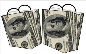 $100 gift bags