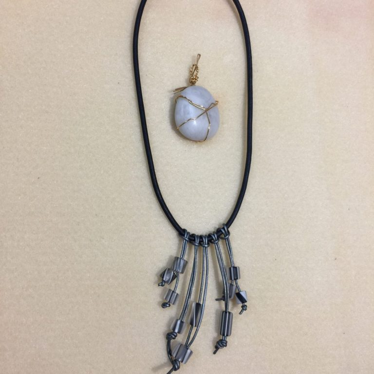 Talisman Necklace and Stone Wrapping 1-3