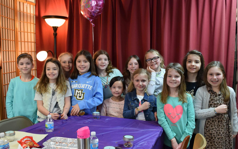 Have a birthday party at Ayla's