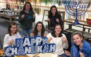 Have your Hanukkah party at Ayla's