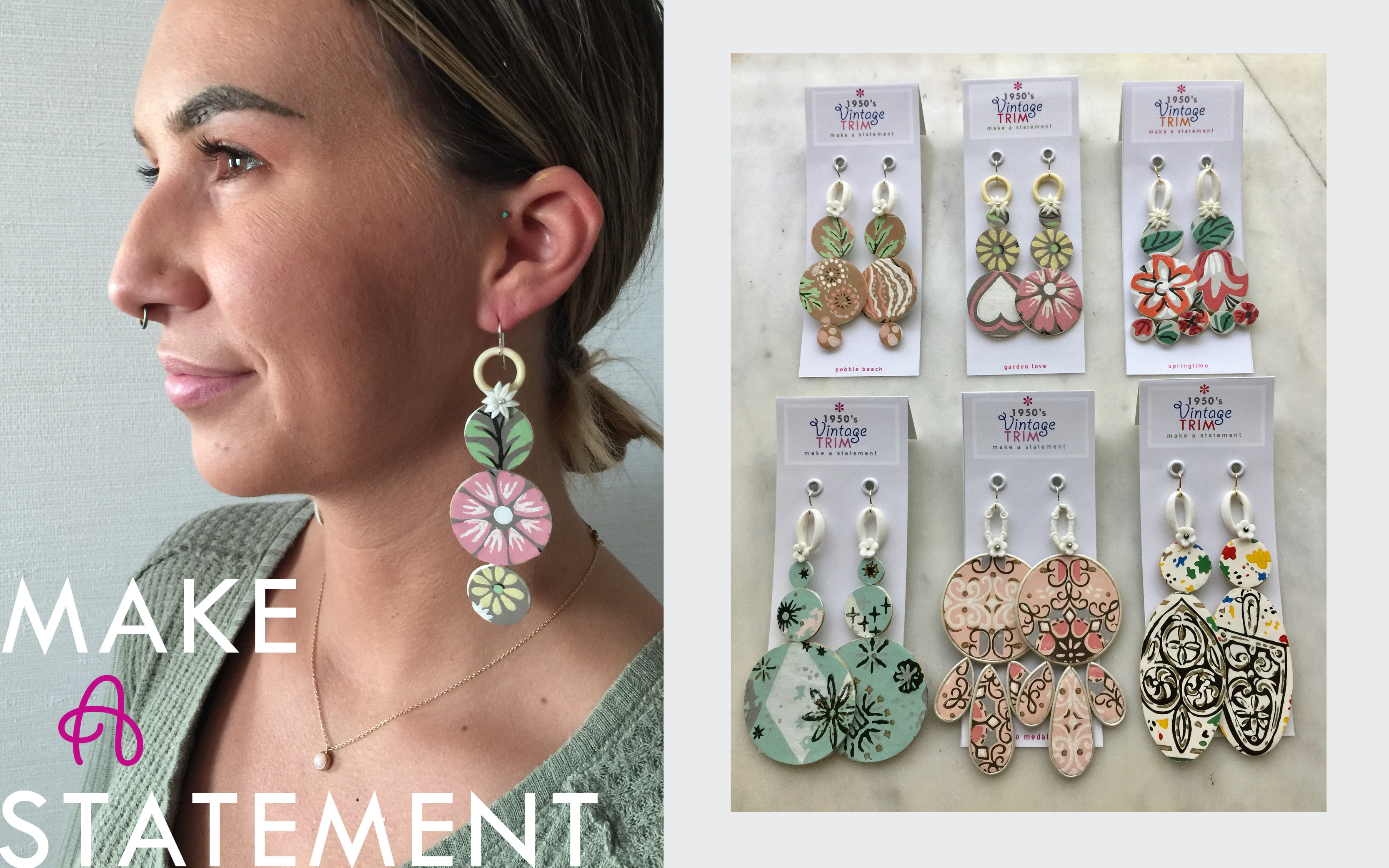 Trunk Show True Ideas earrings