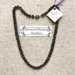 Advanced Knotting Necklace