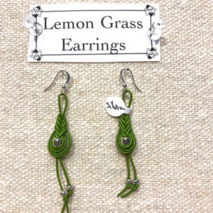 Lemon Grass Earrings