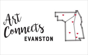 Evanston art walk - art connects evanston